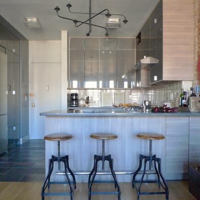 Melissa's revamped kitchen