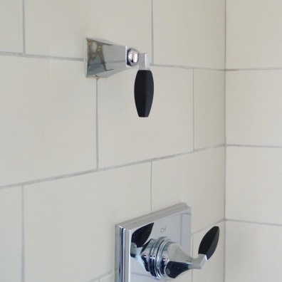 Beautiful shower controls