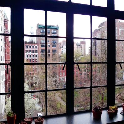 The windows that inspired the kitchen cabinets