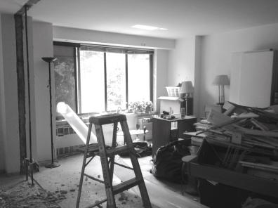 Demolition at Alexander's Central Park West apartment