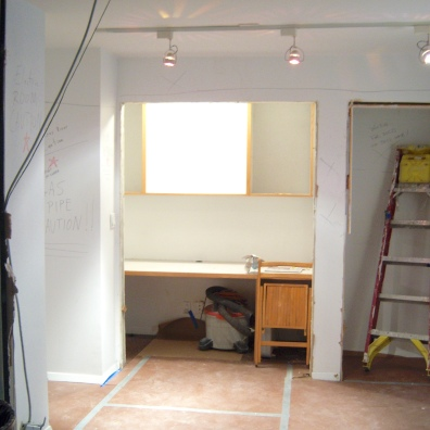 Kitchen, before